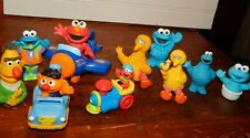 Sesame Workshop Figures Big Bird Elmo Burt Ernie Cookie Monster & Vehicle toys