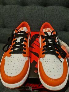 Jordan 1 Low OG Black/Orange/White US12