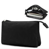 Portable Travel Cable Organizer Digital Bag Trip Charger Wires Case Pouch LD
