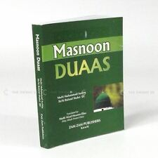 Masnoon Duaas Selection of Prayers Zamzam English Translation Islamic 12x9cm