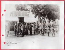 1918 Allied Officers Meet General Armani in Villafranca Italy 6.5x8.5 News Photo