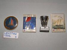 4 FEVES PERSO LENOTRE 1995 CUP LOUIS VUITTON