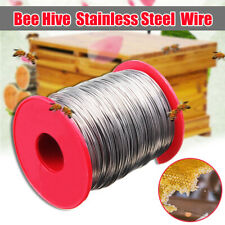 0.5mm Stainless Steel Bee Hive Frame Wax Foundation Wire Bee Box Keeping   э