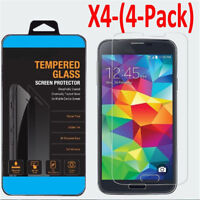 2/4x Tempered Glass Protective Screen Protect Film for Samsung Galaxy S5 S6 S4 I