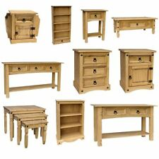 Corona Panama Mexican Solid Pine Wood Furniture Dining & Living Room Bedroom