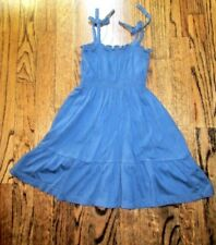 Toddler Girls PEEK Blue Sleeveless Dress Size XS 2-3 Y