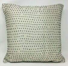 "Hudson Park 16"" x 16"" Beaded Decorative Pillow - Champagne"