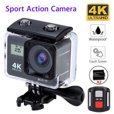 4K Ultra HD Sports Camera WIFI Helmet Mini DV Action Camcorder Touch With Remote