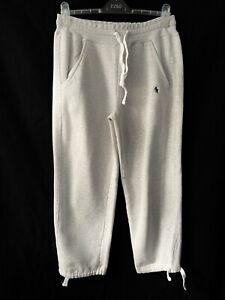Polo Ralph Lauren Joggers Grey Cotton Bottoms Men L