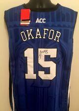 762a79926c2e Jahlil Okafor Duke Blue Devils Pelicans Autographed Signed Jersey COA JSA