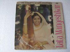 All Time Favourites of Lata Mangeshkar LP Record Bollywood India-1623