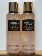 Victoria's Secret Lot-2 x Bare Vanilla Shimmer Fragrance Mist (8.4 oz. each)