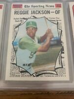 1970 Topps Oakland Athletics Reggie Jackson # 459 Tough Card !!!