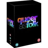 Queer come Folk (USA) Stagioni 1 a 5 Collezione Completa DVD Nuovo (1000115032)