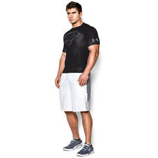Under Armour Alter Ego Mens Black Compression Short Sleeve Sports T Shirt Tee XL