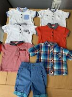 Ted Baker Baby Boy 6-9 Months Bundle Tops T-shirt's RRP £130