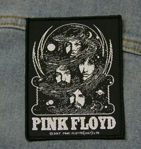 Pink Floyd sew  on patch retro Official merchandise metal