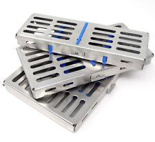 Autoclave Sterilization Cassette Box Rack Tray 5 7 10 Slot Dental Instr Pick