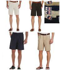"Men's Roundtree & Yorke Travel Smart Exp Waist Shorts 42, 44, 44T 50 Ins 10"" $46"