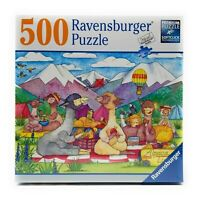 NEW SEALED Ravensburger 500 Piece Jigsaw Puzzle Alpaca Lunch