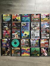 LOT 25 DÉMOS PROGRAMMES MUSIQUE COMMODORE AMIGA CD ROM RARE