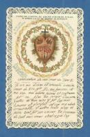 IMAGE PIEUSE CANIVET SANTINO SACRE COEUR DE JESUS MARGUERITE M ALACOQUE THFR ❤️