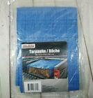 "New Tool Bench Hardware Blue Lightweight Mesh Plastic Cover Tarp 4x6"" 48x72"""