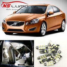 22xLED Interior Light Bulbs Kit For Volvo S60 Sedan 2000-2009 Xenon White Trunk