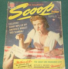 SCOOP VOL. 2 #27 1941 VG VINTAGE CHEESECAKE