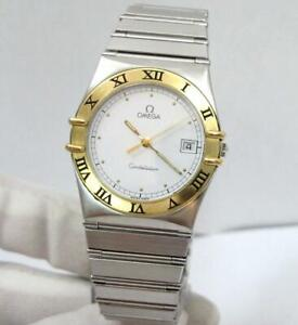 Gents Omega Constellation Watch 18k Solid Gold & SS