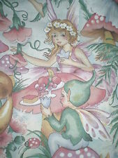 Large FAIRY Fabric Remnant (100cm x 50cm)