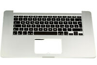 "Apple Macbook Pro Retina 15"" A1398 2013-2014 Topcase Cover Gehäuse Tastatur DE"