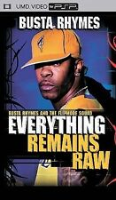 Busta Rhymes Everything Remains Raw Live Performance Hit Songs PSP UMD BRAND NEW