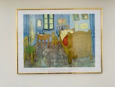 Arles' Vincent bedroom by Vincent van Gogh Oil painting printed on canvas L2398