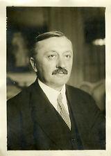 """""""Mr CAUTRU (Sous-secrétaire à l'Agriculture 1930)"""" Photo originale G.DEVRED /ROL"""
