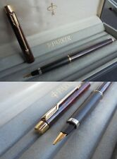 PARKER  FLIGHTER CLASSIC LACCATA PENNA STILOGRAFICA + box Laque Fountain Pen '96