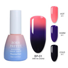 BORN PRETTY Nail UV Gel Polish Thermal Color Changing Glitter Shimmer Soak Off