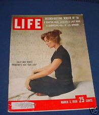LIFE MAGAZINE MARCH 3 1958 BROADWAYS MY FAIR LADY HOWES JULIE ANDREWS
