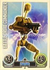 Star Wars Force Attax Battle Droid Commander #059