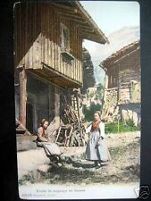 Switzerland~Swiss Farmer Women ~ Sythe ~ En Savoie