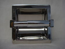 Distinctive Bathware Recess Toilet Tissue Paper Holder Stainless Steel # 5567P