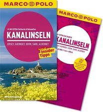 MARCO POLO Reiseführer KANALINSELN Jersey Guernsey UNBENUTZT statt 11.99 nur..