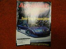 Frankfurt Motor Show, AutoWeek - Sept 27,1999