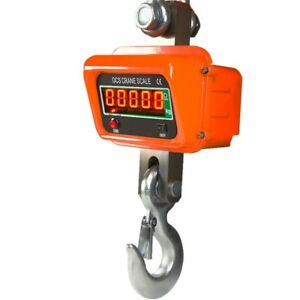 Digital electronic crane scales 5000kg