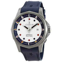 Corum Admiral's Cup Racer Automatic White Dial Men's Watch A411/04100