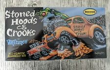 New & Sealed Stoned Hoods & Crooks Moebius Models 1:25 Scale Plastic Kit #1209