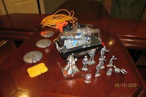 Vintage 1960 Mattel Switch N Go Lost in Space Chariot,Space Figures,Bloop,Robot