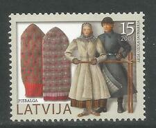 Latvia 2004 Mittens/Local Handicraft--Attractive Art Topical (604) MNH