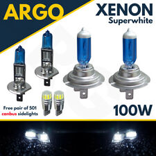 H7 T10 H1 100w Super White Xenon Upgrade Head Light Bulbs Set Main Dip Beam Cree