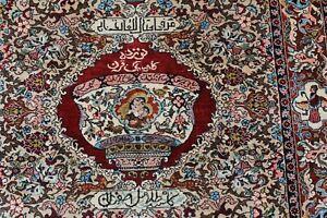 KESHAN  reine Naturseide Persien  ende 20. Jahrhundert